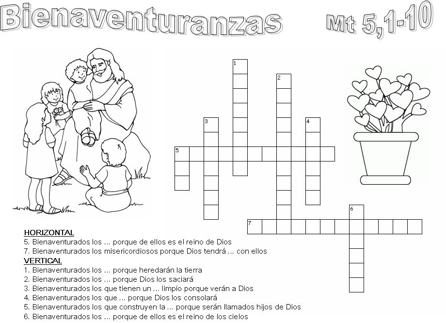 Las 8 bienaventuranzas dibujos - Imagui
