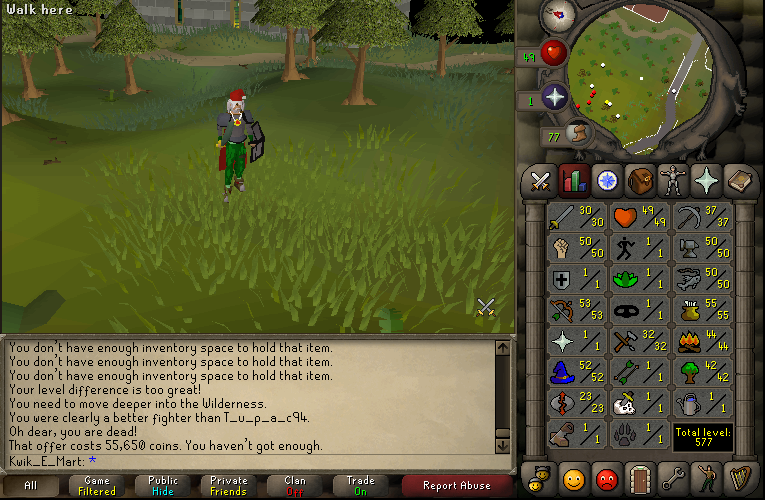 2007 RuneScape old school f2p pure