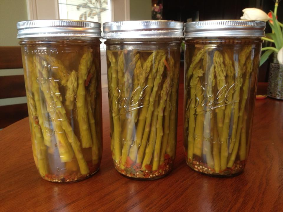 Canning Asparagus - Canning Homemade!