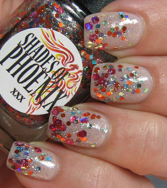 Shades of Phoenix Phoenix OPI NYC Ballet Barre My Soul