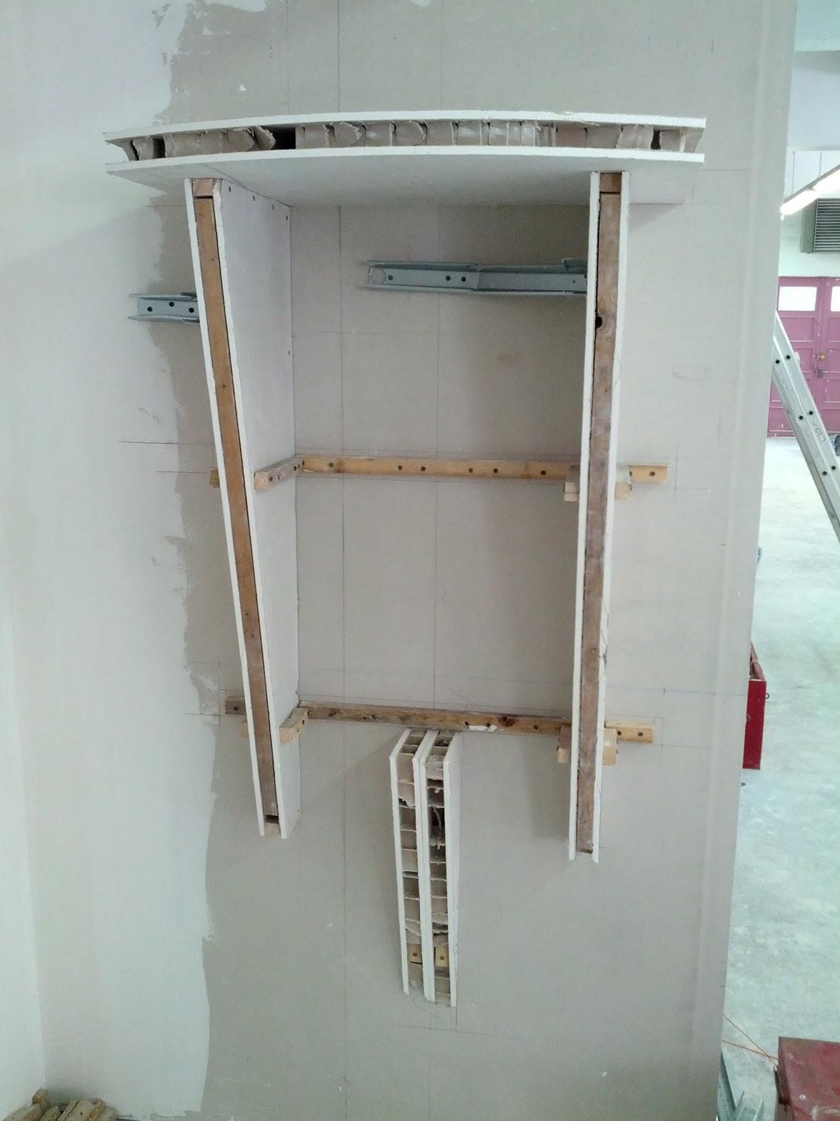 fixer des etageres sur du placo chambre a coucher maroc