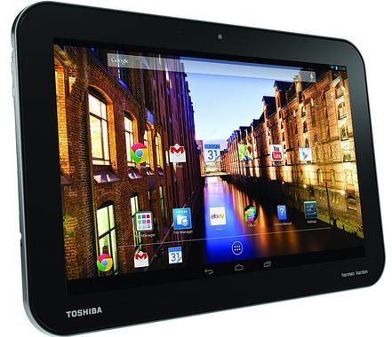 Toshiba Excite Pro - Full tablet specifications