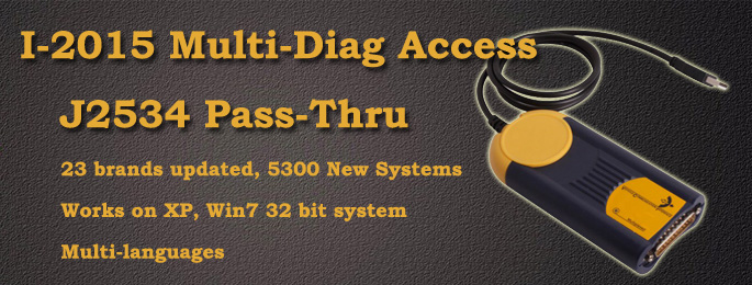 I-2015 Multi-Diag Access J2534