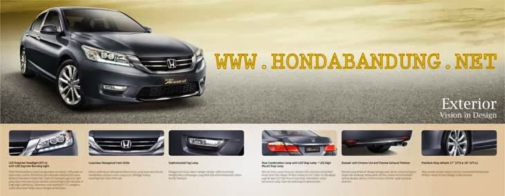 Eksterior All New Honda Accord
