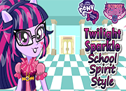 MLPEG Twilight Sparkle School Spirit Style