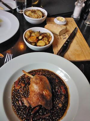Hotel du Vin Bristol food