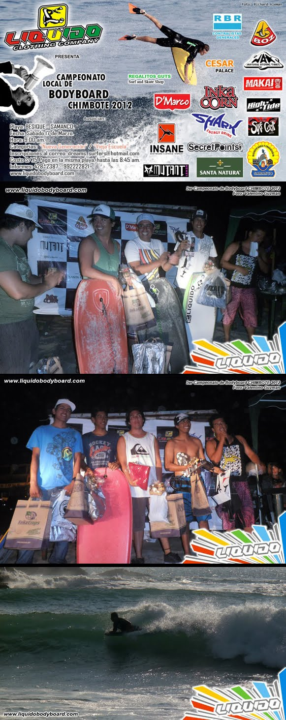 3er Campeonato Local de Bodyboard - CHIMBOTE 2012