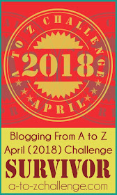 Successfully Completed A To Z Blogging Challenge 2018