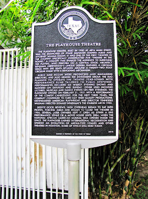 Playhouse Theatre Historical Marker