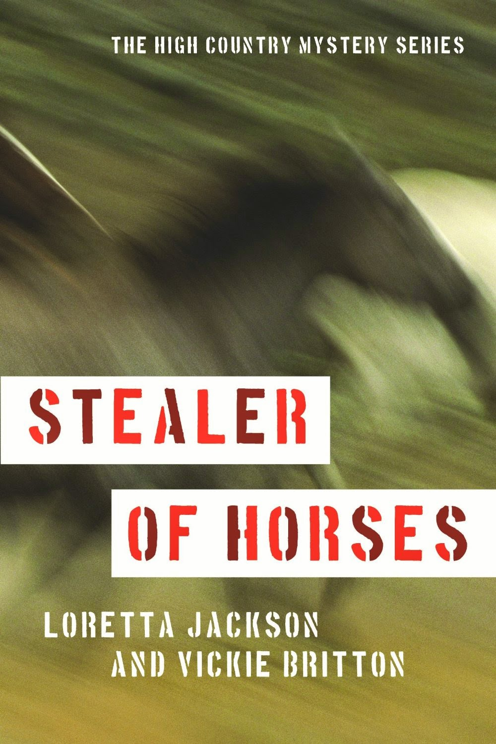 MAY PUBLISHER'S SPECIAL!  STEALER OF HORSE only $1.99!