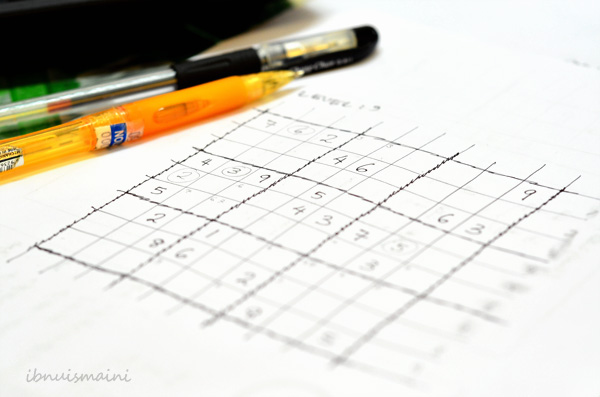 wordless wednesday_sudoku mode