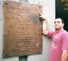 Original Site of the Polo Grounds- New York Ctiy