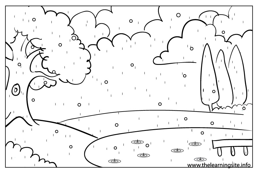 coloring pages weather - photo#30
