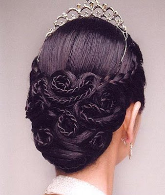 Braided Wedding Hair Updos