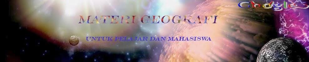 Materi Geografi