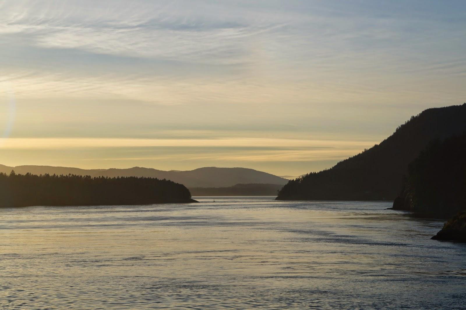 Отплытие от острова Ванкувер