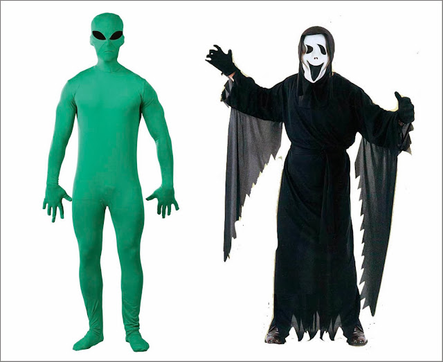 Disfraz Alien barato y disfraz Scream barato