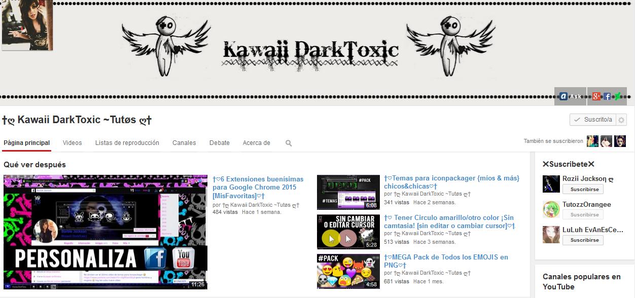 https://www.youtube.com/user/kawaiidarkcore