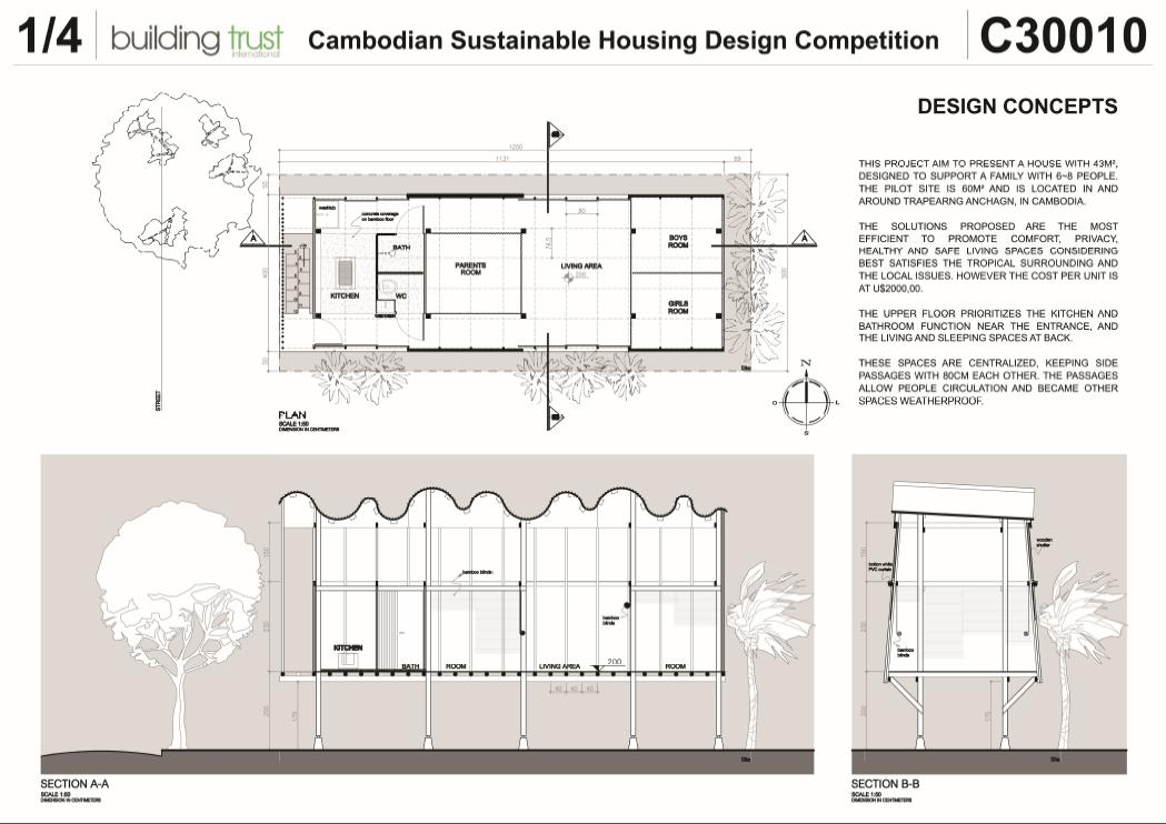 Instituto Da Madeira Concurso De Habita O Social No Camboja