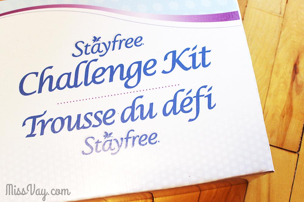 serviettes hygiéniques Stayfree #DefiStayfree