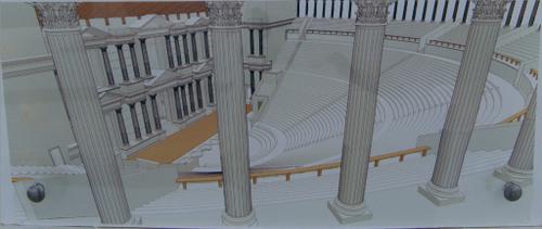 colonia_romana_clunia_visita_burgos_teatro_reconstruccion