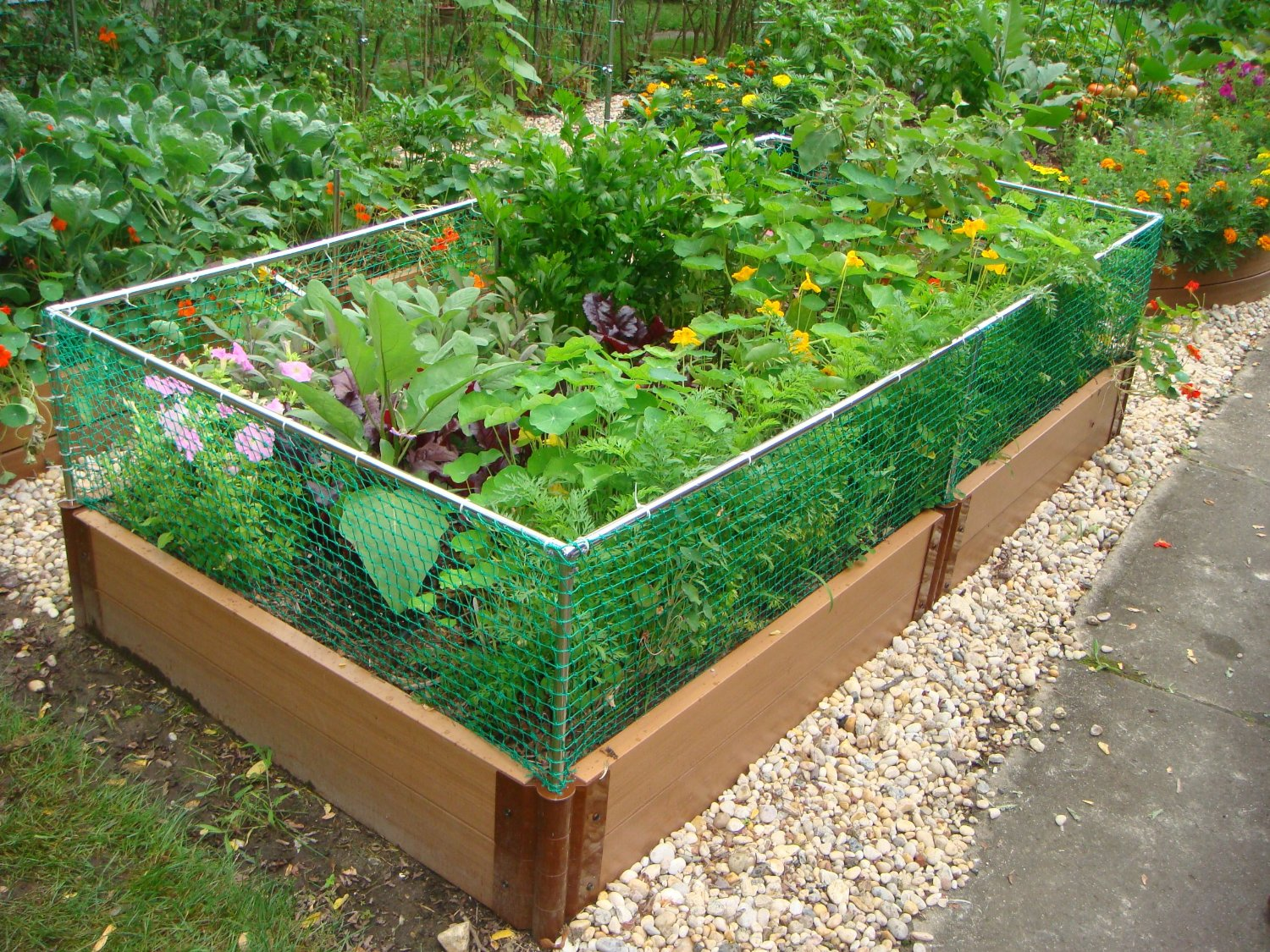 Raised Garden Bed Fence