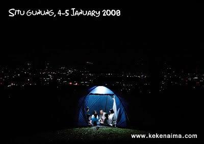 Tanakita jalan-jalan camping