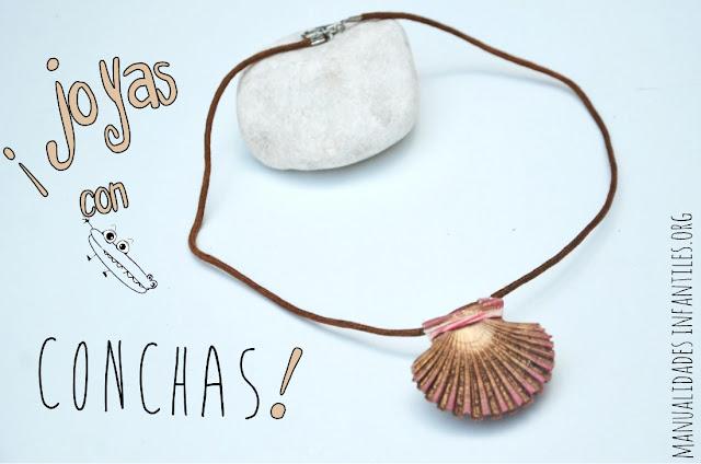 http://www.manualidadesinfantiles.org/collar-de-concha-dorada