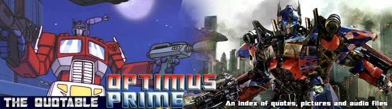 The Quotable Optimus Prime