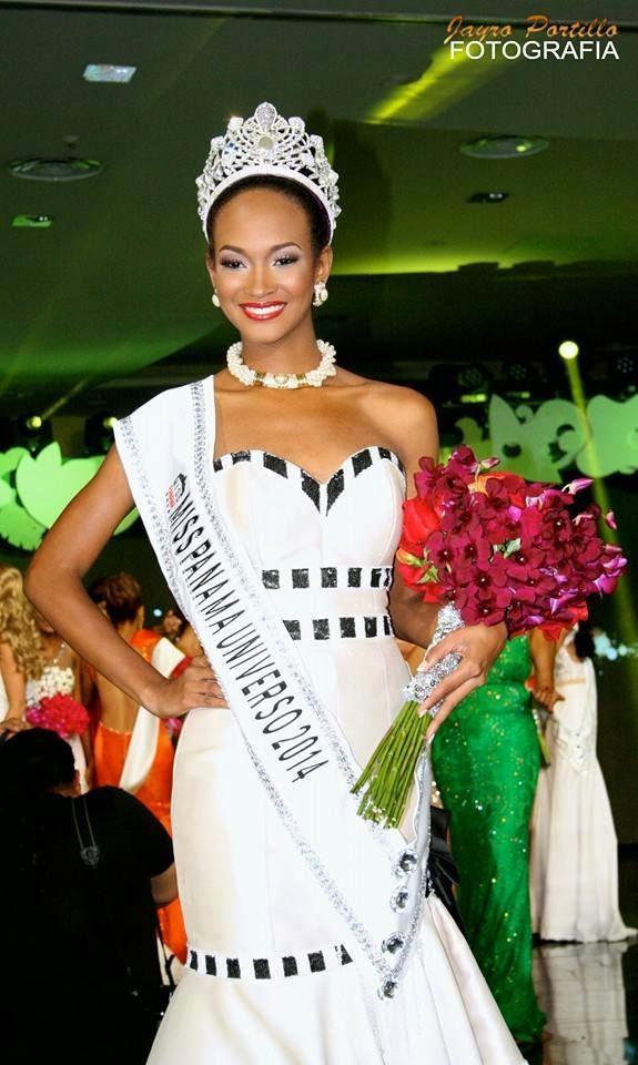 Miss Panama Universo 2014 winner Yomatzy Maurineth Hazlewood De la Rosa