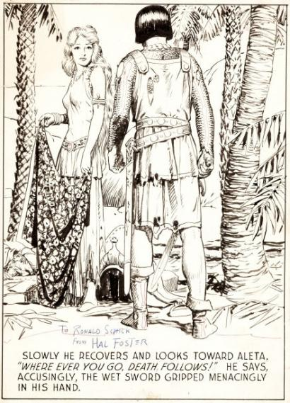 A Single Panel: Prince Valiant