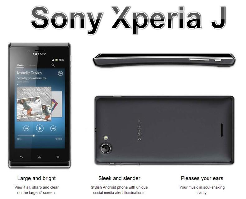 Recent development, reports how much is a sony xperia j