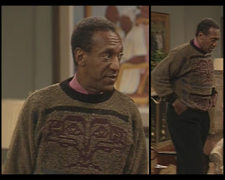 Cosby Show Cliff Huxtable Bill Cosby sweater
