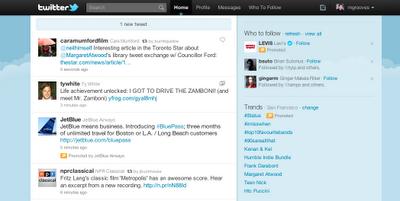 Tweets promocionados