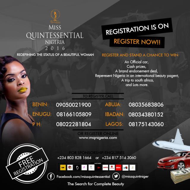 Miss Quintessential Nigeria
