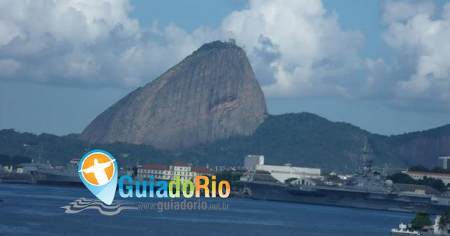 Ao visitar o Rio o Pão de Açúcar é lugar obrigatório.