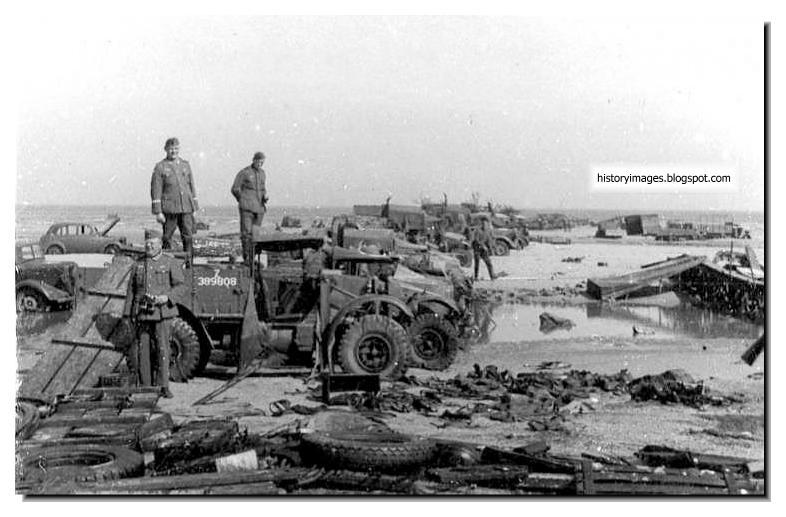 Cars Left Behind In World War