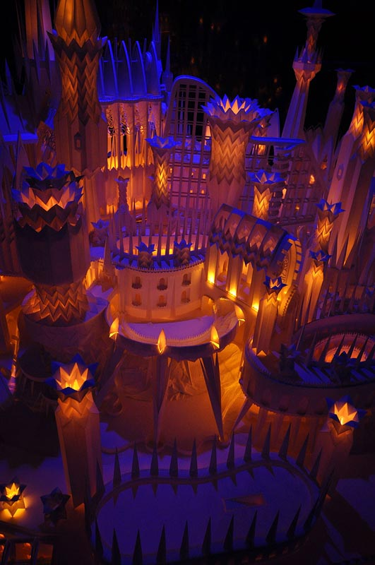An Incredible Castle Made from Paper