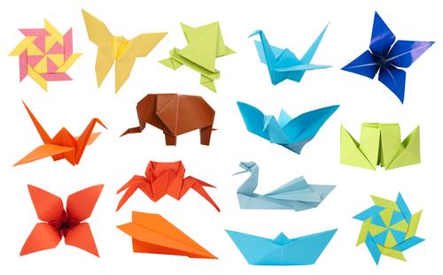exemple de pliage d'origami