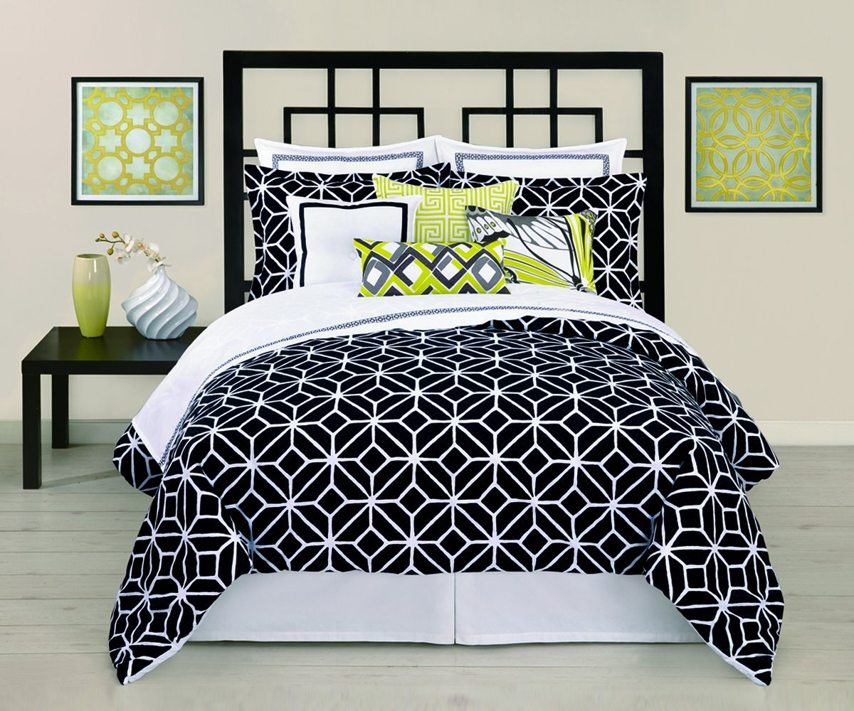 bedding ideas and modern room bed black white sheets bedroom comforter sets home