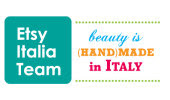 Proud member of Etsy Italia Team!