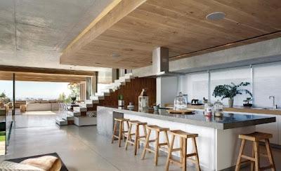 villa de lujo piedra cemento