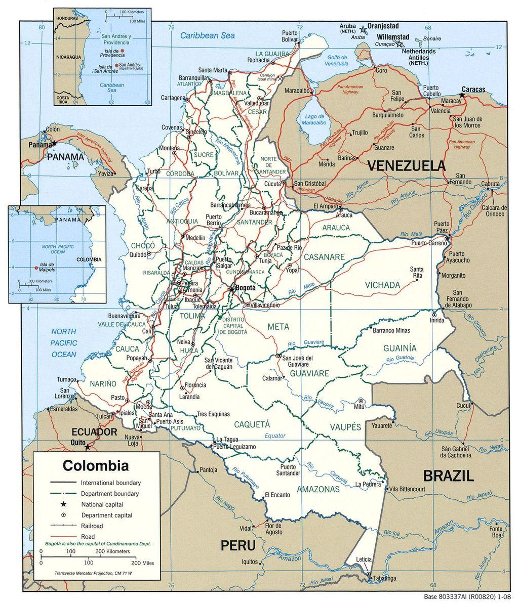 Codigo Postal Distrito Capital Colombia