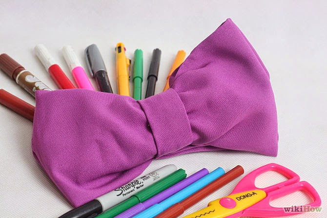 How to Make a Bow Pencil Case