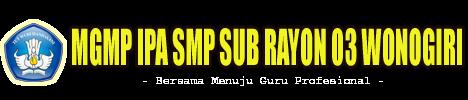 MGMP IPA SMP Sub Rayon 03 Wonogiri
