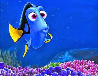 Voz da Dori Procurando Nemo