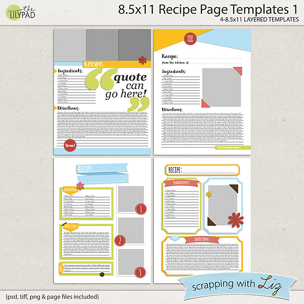 http://the-lilypad.com/store/8x11-Recipe-Page-Templates-1.html
