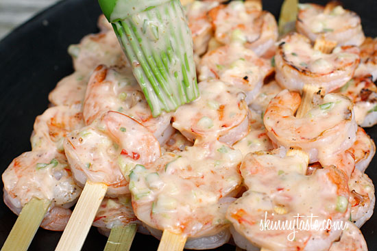 BANGIN' SHRIMP SKEWERS!! | Desire 2 change Blog!
