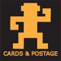 Vectorific cards & postage button