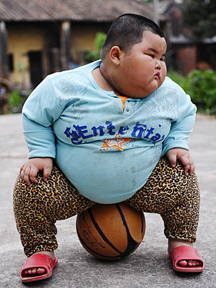Chubby chinese boy She' the